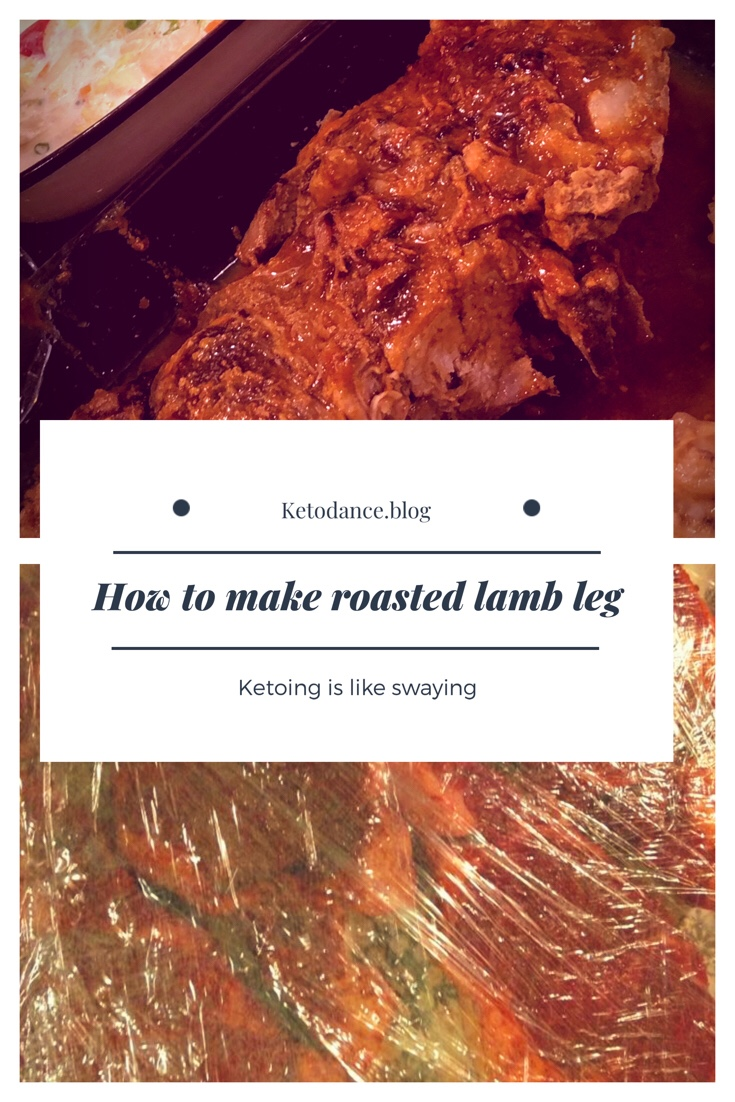 Keto diet lamb leg recipe